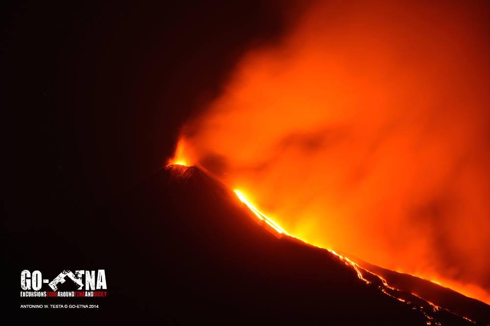 Eruzione Etna 2014