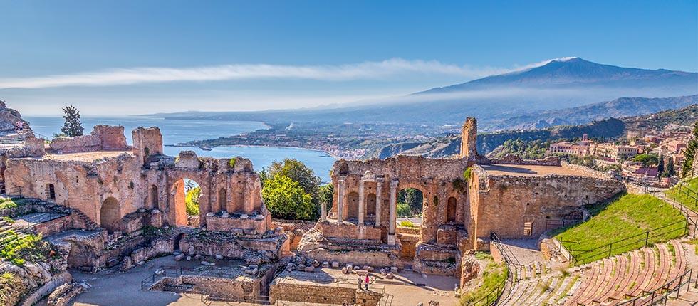 Excursion Etna et Taormina