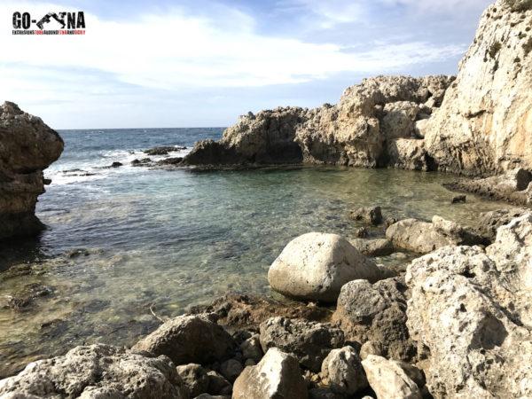 La lagune de Vénus au Cap de Milazzo Sicile