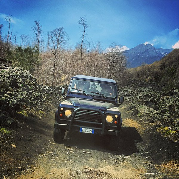 Etna Excursion en 4x4