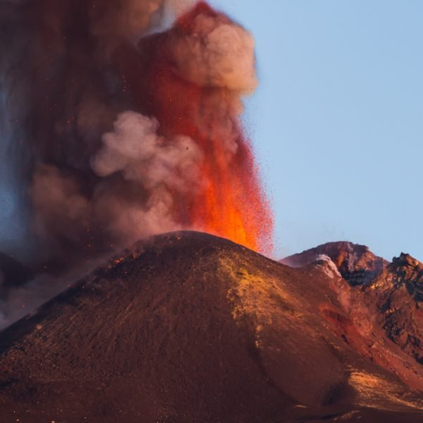 Visite Etna en éruption