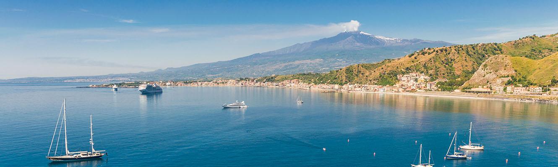 Visite Etna croisière Catane