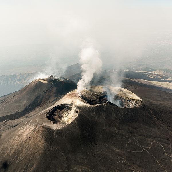 Tour hélicoptère Etna