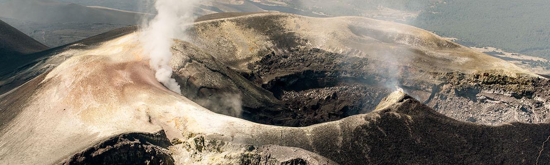 Excursion Hélicoptère Etna