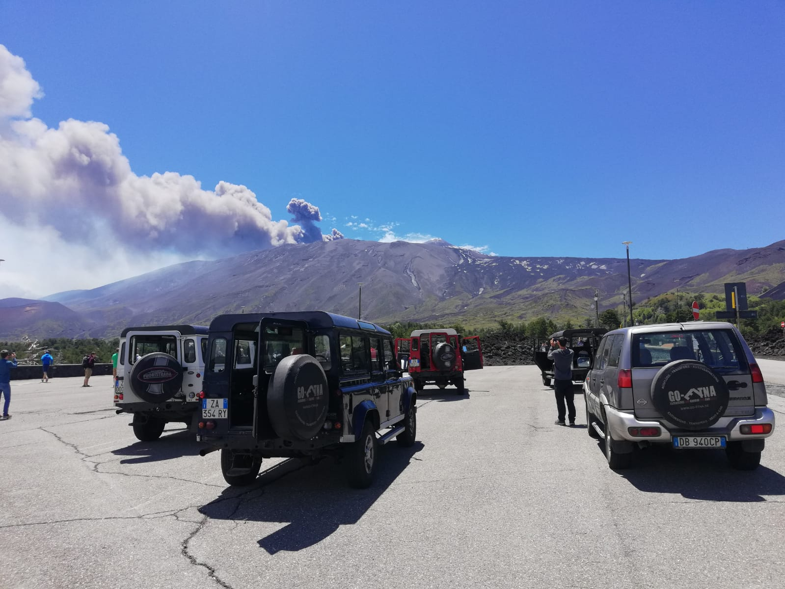 eruption Etna Mai 2019