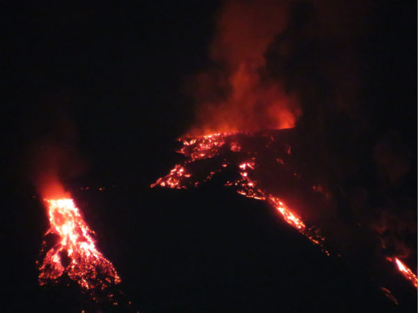 etna photo eruptions
